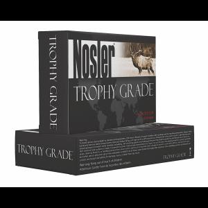 Nosler Bullets Custom Trophy Grade .325 Winchester Short Magnum E-Tip Lead-Free, 180 Grain (20 Rounds) - 48854