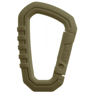 Polymer Mini Carabiner Color: Coyote
