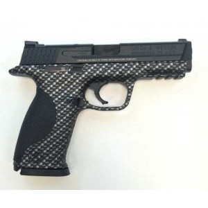 """Smith & Wesson M&P Full Size 9mm 17+1 4.25"""" Pistol in Carbon Fiber - 10121"""