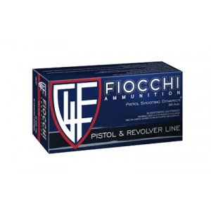 Fiocchi Ammunition .380 ACP Full Metal Jacket, 95 Grain (50 Rounds) - 380APXX