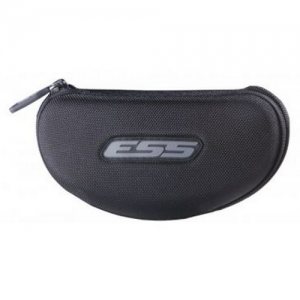 Cross-Series Hard Protective Case - Small zippered MOLLE-compatable hard case. Fits one complete Cross-Series eyeshield & one interchangeable lens