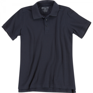 5.11 Tactical Utility Women's Short Sleeve Polo in Dark Navy - X-Large