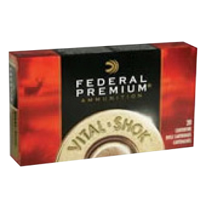 Federal Cartridge Vital-Shok Medium Game .270 Winchester Trophy Bonded Tip, 140 Grain (20 Rounds) - P270TT3