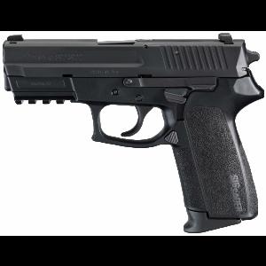 "Sig Sauer SP2022 Full Size MA Compliant 9mm 10+1 3.9"" Pistol in Black Nitron (SIGLITE Night Sights) - SP2022M9BSS"