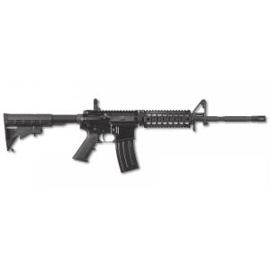 "FN America FN-15 Patrol .223 Remington/5.56 NATO Patrol 30-Round 16"" Semi-Automatic Rifle in Black (M-LOK + Flip-Up Sights) - 36-100580"