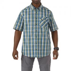 5.11 Tactical Covert Single Flex Men's Long Sleeve Shirt in Fatigue - 2X-Large
