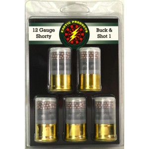 """Exotic Products Shorty .12 Gauge (1.75"""") 1 Buck (4 Pellets)/7.5 Shot (5-Rounds) - 511"""