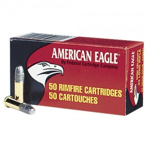 Federal Cartridge American Eagle .22 Long Rifle Copper Plated Hollow Point, 38 Grain (40 Rounds) - AE22