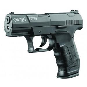 RWS 2252201 CP99 Air Pistol CO2 .177 Pellet Black