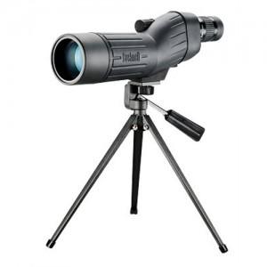 """Bushnell Sentry 14.5"""" 18-36x50mm Spotting Scope in Black Rubber Armor - 781836"""
