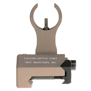 Troy SSIGFBSFHFT Battle Sight Front Folding Flat Dark Earth