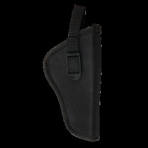 Bulldog DLX2 Pit Bull Revolver Hip Holster Size 02 Black Nylon - DLX2