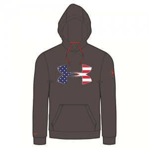 Under Armour Freedom Storm Men's Pullover Hoodie in Carbon Heather - Small