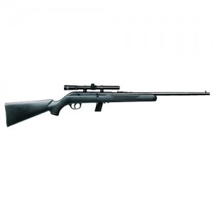 "Savage Arms 64 FXP .22 Long Rifle 10-Round 20.25"" Semi-Automatic Rifle in Blued - 40000"