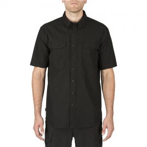 5.11 Tactical Stryke Men's Uniform Shirt in Black - Large
