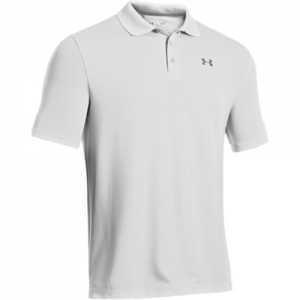 Under Armour Performance Men's Short Sleeve Polo in White - Small