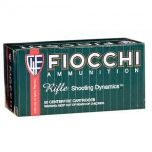 Fiocchi Ammunition .223 Remington/5.56 NATO Full Metal Jacket Boat Tail, 62 Grain (50 Rounds) - 223C