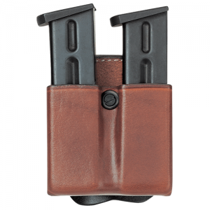 Aker Leather D.M.S. Twin Double Magazine Pouch Magazine Pouch in Tan - A523-TP-3