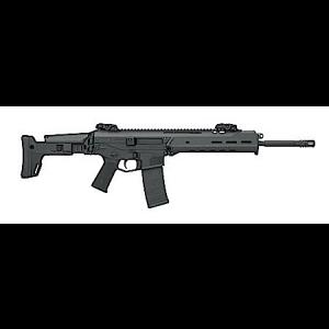 "Bushmaster ACR Basic Folder 6.8 SPC 30-Round 16.5"" Semi-Automatic Rifle in Black - 90955"