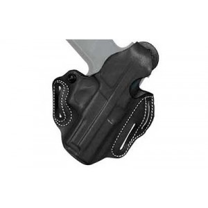 "Desantis Gunhide 1 Thumb Break Scabbard Right-Hand Belt Holster for Beretta 84, 85, 85F in Black (4"") - 001BA75Z0"