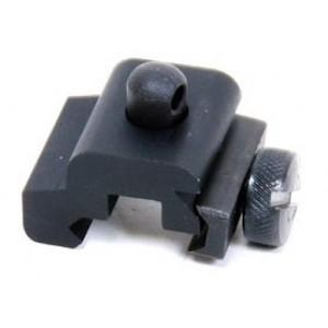 Pro Mag Industries Inc Swivel Stud Picatinny Rail Adapter Aluminum Black PM108A