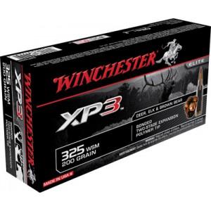 Winchester .325 Winchester Short Magnum Supreme Elite XP3, 200 Grain (20 Rounds) - SXP325S