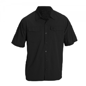 5.11 Tactical Freedom Men's Uniform Shirt in Black - 2X-Large