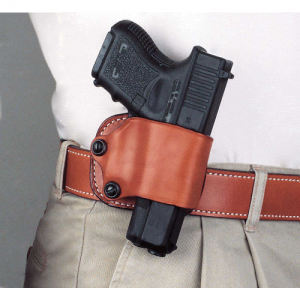 Yaqui Paddle Holster Gun Fit: Fits Most Single Action Large Autos Hand: Left Handed Color: Tan - 029TBSAZ0