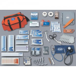 EMI Pro Response Complete Kit Rescue Bag in Orange - 850