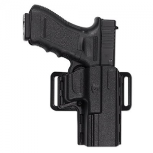 Uncle Mike's Reflex Left-Hand Belt Holster for Smith & Wesson M&P, SD9, SD40 in Black - 74092