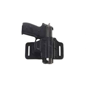 """Galco International Tacslide Right-Hand Belt Holster for Springfield XD-S in Black (3.3"""") - TS662B"""