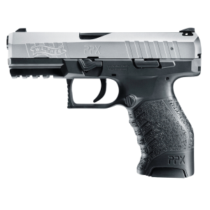"""Walther PPX M1 9mm 16+1 4"""" Pistol in Black - 2790122"""