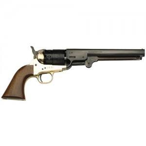 "Traditions 44 Cal Blackpowder w/Brass Frame/7.5"" Steel Barrel & Walnut Grips FR18511"