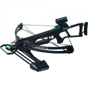 Barnett Crossbow Package w/Red Dot Scope/150 Lb Draw Weight/Black Finish 18028