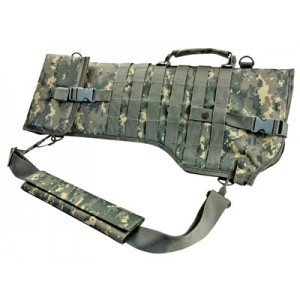 "NCStar Tactical Rifle Scabbard 28.5x9.5"" 600x300D PVC Green Digital Camo Finish CVRSCB2919D"