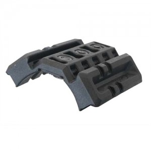 Fab Defense Black Dual Rail For M16/AR15/M4 Standard Handguard DPR164