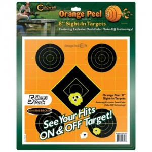 "Caldwell 5 Pack 12"" Orange Peel Targets 244561"