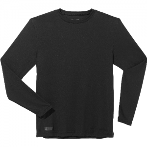 Under Armour HeatGear Men's Long Sleeve Compression Tee in Black - X-Large