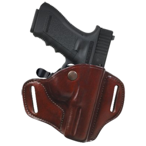 "Bianchi 22162 Carrylok Concealment Holster 82 Fits Belts up to 1.75"" Tan Leather - 22162"