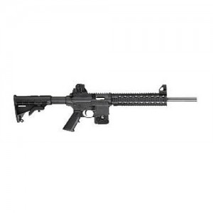 "Smith & Wesson M&P 15-22 .22 Long Rifle 25-Round 16"" Semi-Automatic Rifle in Black - 811030"