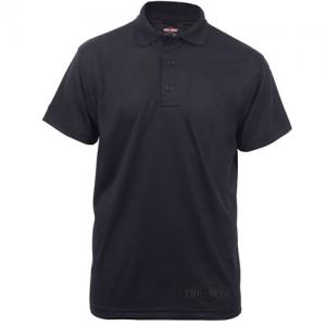 Tru Spec 24-7 Men's Short Sleeve Polo in Black - Small
