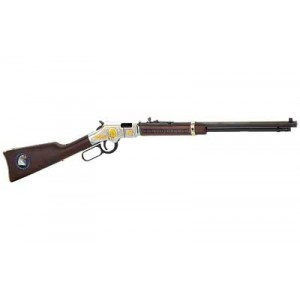 """Henry Repeating Arms Golden Boy Law Enforcement Tribute Edition .22 Short/.22 Long Rifle 21-Round 20"""" Lever Action Rifle in Brass - H004LE"""