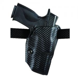 "Safariland 6377 ALS Left-Hand Belt Holster for Glock 19 in STX Plain Black (4"") - 6377-283-412"