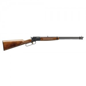"""Browning BL-22 Grade I & II .22 Long Rifle 15-Round 20"""" Lever Action Rifle in Blued - 24100103"""
