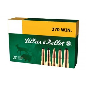 Magtech Ammunition .270 Winchester Soft Point, 150 Grain (20 Rounds) - SB270A