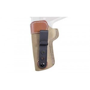 "Desantis Gunhide 106 Sof-Tuk Left-Hand IWB Holster for 1911 in Natural Suede (5"") - 106NB85Z0"