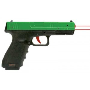 Nextlevel Training Performer Trainer Sirt Laser, Green Molded Plastic Slide With Red Trigger, Take-up And Shot Indicating Lasers, Green/black Finish 017-p9r000