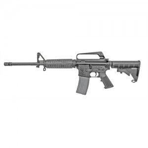 "Olympic Arms GI-16 .223 Remington/5.56 NATO 30-Round 16"" Semi-Automatic Rifle in Black - GI16"