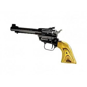 """Heritage Rough Rider .22 Long Rifle/.22 Winchester Magnum 6-Shot 4.75"""" Revolver in Fired Case/Blue - 22MB4AS"""