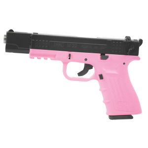 "ISSC/LSI M22 Target.22 Long Rifle 10+1 4.4"" Pistol in Pink - 111020"